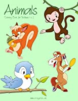 Animals Coloring Book for Toddlers (Animals for Toddlers)