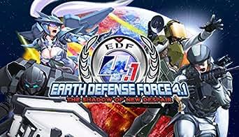 EARTH DEFENSE FORCE 4.1 The Shadow of New Despair(地球防衛軍4.1)[オンラインコード]