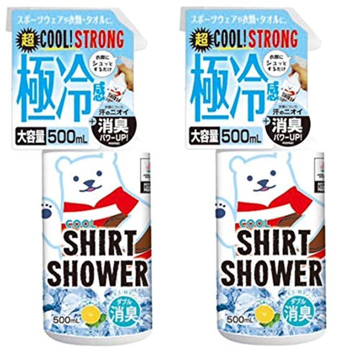 漏れチームアンテナ【数量限定】ラグビー日本代表コラボ ひんやりシャツシャワー ストロングラグビー 500ml (2個)