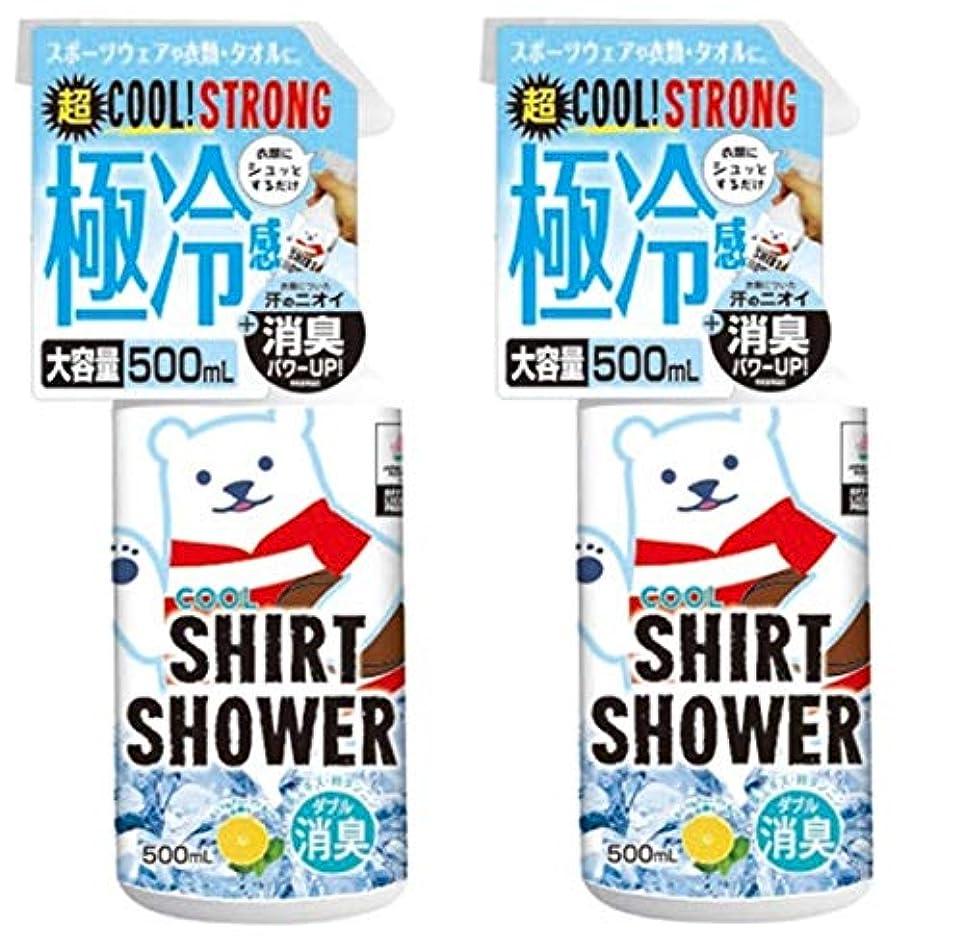 おばあさん中央リラックス【数量限定】ラグビー日本代表コラボ ひんやりシャツシャワー ストロングラグビー 500ml (2個)