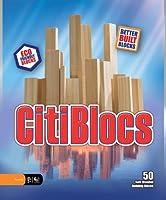 木製ブロック CitiBlocs シティブロックス ナチュラルカラーセット50ピース