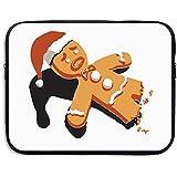 Cherina Rheaコンピュータバッグノートパソコンケーススリーブバッグhalf-eaten Gingerbread Man防水13–15インチfor Ipad Air Macbook Pro Surface Bookノートブックウルトラブック 15 Inch