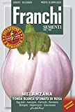 野菜の種 白丸ナス tonda bianca sfumata di rosa 90/43