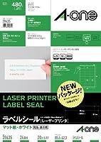 (まとめ買い) エーワン レーザープリンタラベル24面20入 28435 【×3】