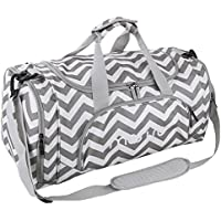 Mosiso Polyester Fabric Foldable Travel Luggage Multifunctional Duffels Lightweight Shoulder for Men/Ladies Gym Bags, Sports, Vacation