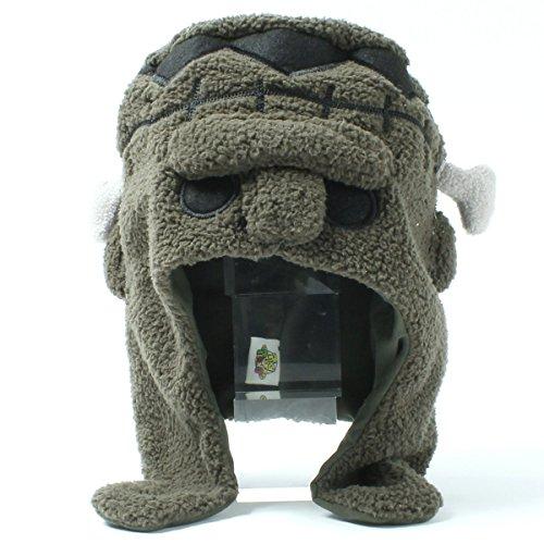 ニット帽 フランケン 帽子 52-54cm キッズサイズ ポ...