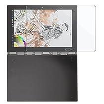 Lenovo Yoga Book 10.1 専用強化ガラスフィルム AVIDET 9H硬度の液晶保護 2.5D 0.2mm超薄型【日本板硝子社国産ガラス採用】耐指紋 撥油性 高透過率 ラウンドエッジ加工 (液晶用)