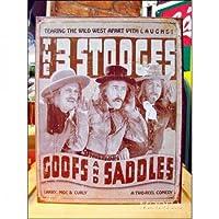 アメリカンブリキ看板 The Three Stooges Goofs & Saddles