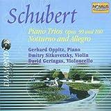 Schubert - Piano Trios Op. 99 & 100 / Notturno and Allegro (2001-07-09)