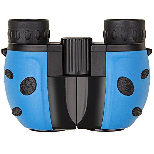 DinDinCam 双眼鏡 オペラグラス コンサート用 軽量 8倍 8×22 野球観戦 登山 バード ウォッチング ライブ スポーツ アウトドア(ブルー&ブラック)