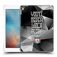 オフィシャル Liverpool Football Club グレー・ジオメトリック You'll Never Walk Alone クレスト iPad Pro 9.7 (2016) 専用ハードバックケース