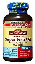 大塚製薬 ネイチャーメイド スーパーフィッシュオイル(EPA DHA) 90粒 [機能性表示食品]