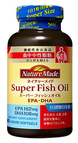 大塚製薬 ネイチャーメイド スーパーフィッシュオイル(EPA/DHA) 90粒 [機能性表示食品]...