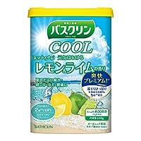 【医薬部外品】バスクリンクール入浴剤 元気はじけるレモン&ライムの香り600g クール入浴剤 すっきりさわやか