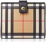 [バーバリー] 財布 4073431 ビンテージチェック 二つ折り財布 BU-4073431-00100 BLACK [並行輸入品]