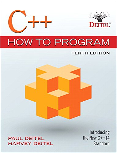 Download C++ How to Program (10th Edition) 0134448235