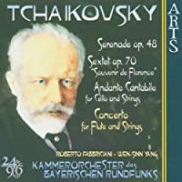 Music for Strings With Flute & Cello by P.I. Tchaikovsky