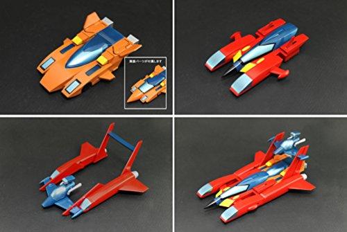 磁鋼合金 メカンダーロボ ノンスケール ダイキャスト&ABS製 塗装済み 可動フィギュア