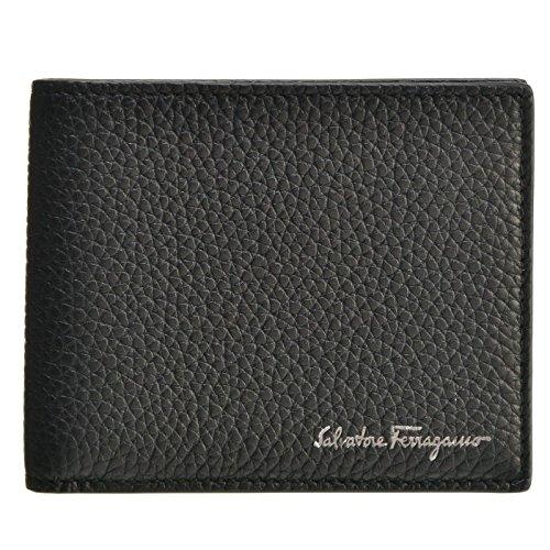Salvatore Ferragamo(サルヴァトーレ フェラガモ) 財布 メンズ FIRENZE メンズ 二つ折り財布 660897 0001 0010 [並行輸入品]