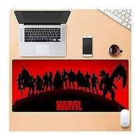 Zenghh どちらのゲーム・キラキラ大理石の拡張ゲーミングマウスパッド、太い(31.4 / 35.4in)大型コンピュータのキーボードマウスパッドマウスマット、耐水性、ノンスリップベース、耐久性のあるステッチエッジ、理想 (Color : B, サイズ : 900X400mm)