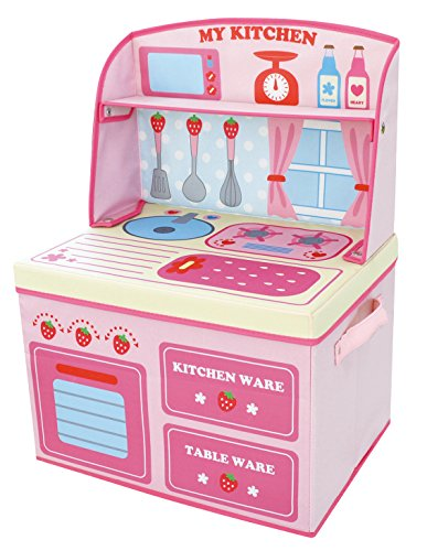 ままごと収納ボックス キッチン イチゴ 14814