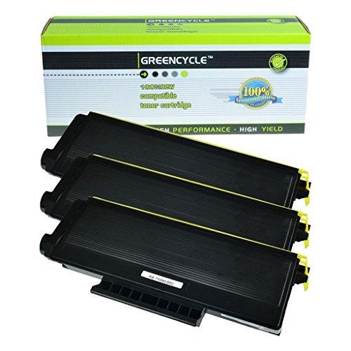 Greencycle 3PK互換tn580tn620tn650のブラックトナーカートリッジBrother HL - 5280dw hl-5250プリンタ