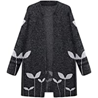 Gillberry Women's Jacket Women's Open Front Knitting Cloak Jackets Overcoat
