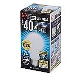 アイリスオーヤマ LED電球 口金直径26mm 40W形相当 昼白色 広配光タイプ 密閉形器具対応 LDA4N-G-4T2