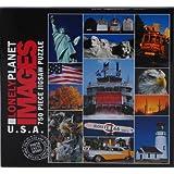Lonely Planetイメージ750ピースジグソーパズル–U。S。A。