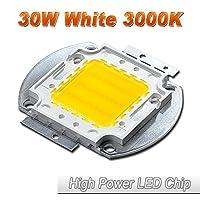 hontiey高電源LEDチップウォームホワイトライト ホワイト HTY-HP-30W30-W3000K-01