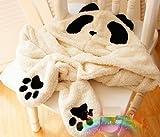 あったか 便利グッズ かわいい パンダさん 帽子 マフラー 手袋 一体型タイプ コスプレにも