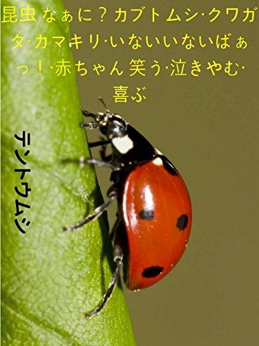 昆虫 なぁに?カブトムシ・クワガタ・カマキリ・いないいないばぁっ!・赤ちゃん 笑う・泣きやむ・喜ぶ