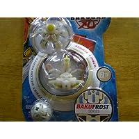 Bakugan BakuFrost b3スターターパックwithつや消しホワイト冷凍庫、ウルトラDragonoid、とミステリー