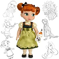 Disney Animators' Collection Anna Doll-Frozen-16 Inch 460708237748 [並行輸入品]