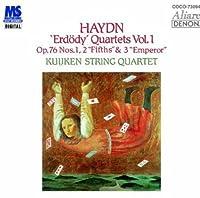 ハイドン:弦楽四重奏曲第75番・第76番・第77番