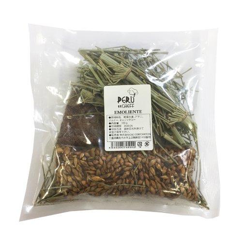 エモリエンテ(乾燥大麦、アマニ、ボルドー、キャッツクロ―)100g ペルーシェフ