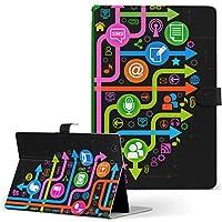 MediaPad M3 Lite 10 HUAWEI ファーウェイ タブレット 手帳型 タブレットケース タブレットカバー カバー レザー ケース 手帳タイプ フリップ ダイアリー 二つ折り その他 クール 木 カラフル 000432