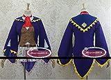 高品質モンスターハンター4★受付嬢 旅団の看板娘(紫)★コスプレ衣装オーダーサイズ可能
