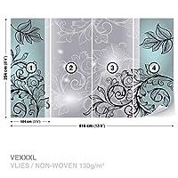 花FloralWall Muralフォト壁紙部屋飾り( 1445ws ) XXXL - 416cm x 254cm