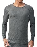 (ビー・ブイ・ディ)B.V.D. 吸湿発熱 保温 防寒 クルーネック長袖Tシャツ WARM TOUCH中厚(M,L,LL) GR057PS