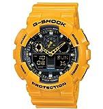 [カシオ]CASIO カシオ 海外モデル G-SHOCK Gショック ハイパーカラーズ イエロー GA-100A-9AER メンズ 腕時計 [並行輸入品]