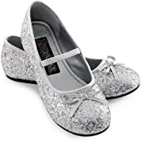 Sparkle Ballerina (Silver) Child Shoes スパークルバレリーナ(シルバー)子供靴?ハロウィン?クリスマス?X-Small (9/10)