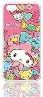 河島製作所 サンリオ iPhone5s/5 キャラクター スマートフォン シェル ハード ケース / ハローキティ 【KT1003】