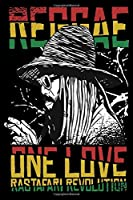 Notebook For Reggae Fans: Blank Notebook with dotgrid for Reggae Musician and Music Fans with cool and artistic cover.  6 X 9 inches / 15,24 cm X 22,86 cm