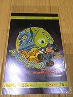 TDL 東京ディズニーランド 26周年 記念 ポストカード モンスターズインク (日付入り)