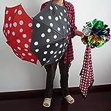 【手品 マジック】 ポルカドット?スカーフ&傘 パラソルプロダクションマジック 花ボールに変わる 傘マジック ステージマジック道具 手品道具