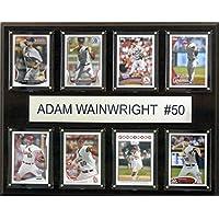 MLBセントルイス・カージナルスアダム・ウェインライト8-card Plaque、12x 15インチ