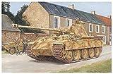ドラゴン 1/35 第二次世界大戦 ドイツ軍 5号戦車 パンターA 後期型 ノルマンディ 1944 w/マジックトラック プラモデル DR6168MT