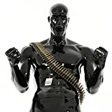 Catsobat レプリカ 軽量リアル弾丸ショルダーベルト サバイバルゲーム SWAT 特殊部隊 ハロウィンアイテム 戦闘服備品 レプリカ弾丸ショルダーベルト サイズ調整可