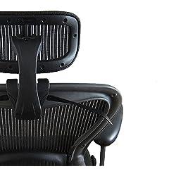 アーロンチェア ヘッドレスト メッシュタイプ 専用設計でバッチリフィット 保証付き アーロン